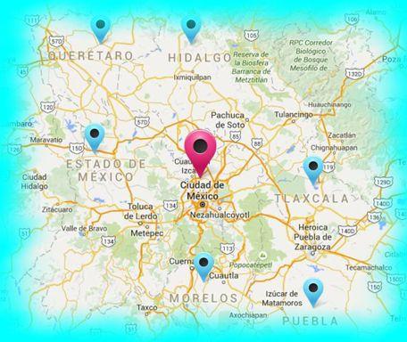 EventosLalash Areas de Servicio